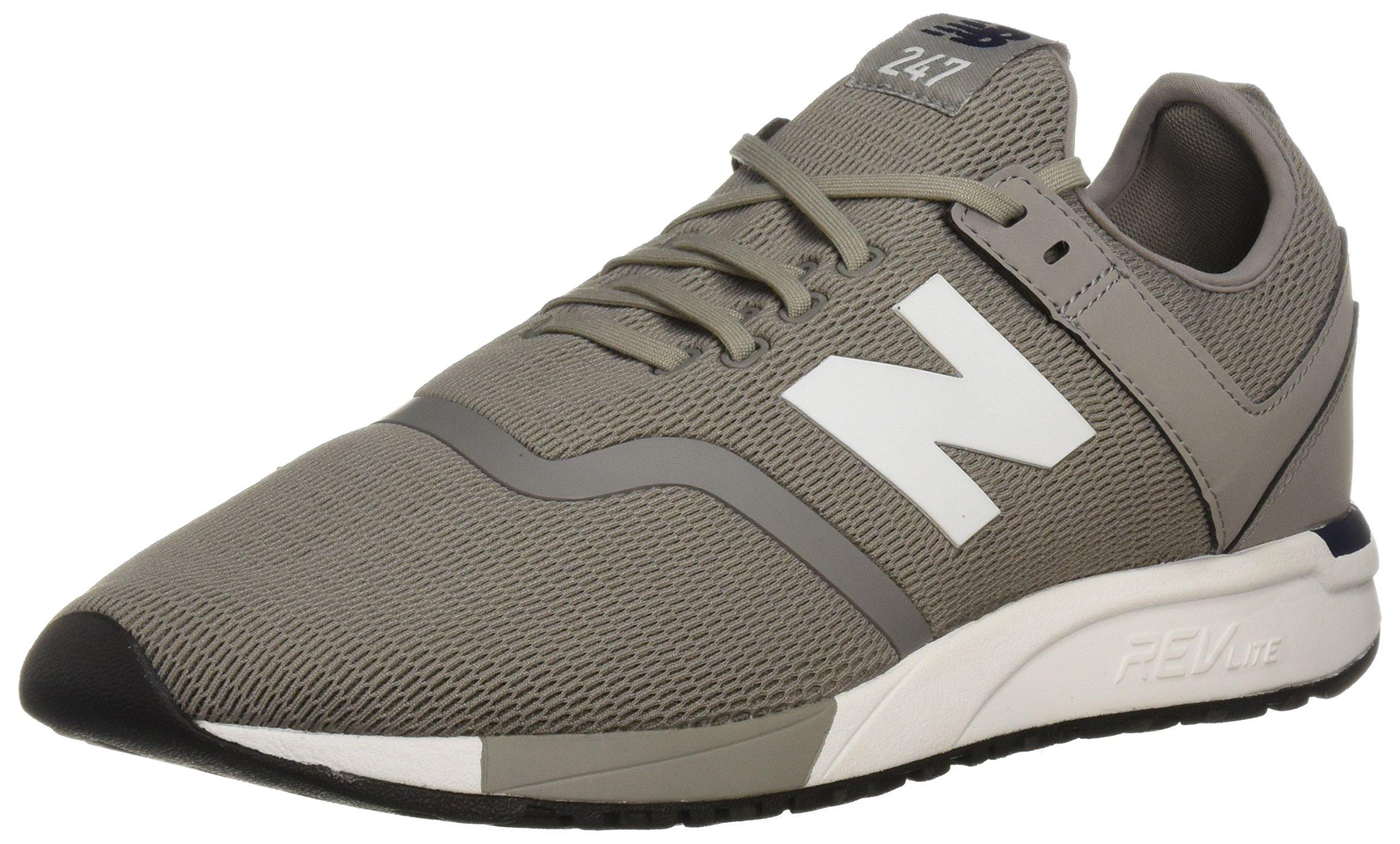 New Balance Men's 247d1 Sneaker, Steel/Pigment, 9 D US
