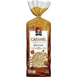 Quaker Rice Cakes, Caramel, 6.5 Oz