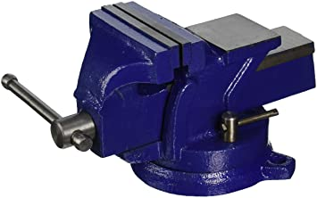 Amazon Com Hfs Heavy Duty Bench Vise 360 Swivel Base With Lock