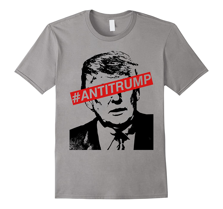 Antitrump #Antitrump Protest T-shirt-CL