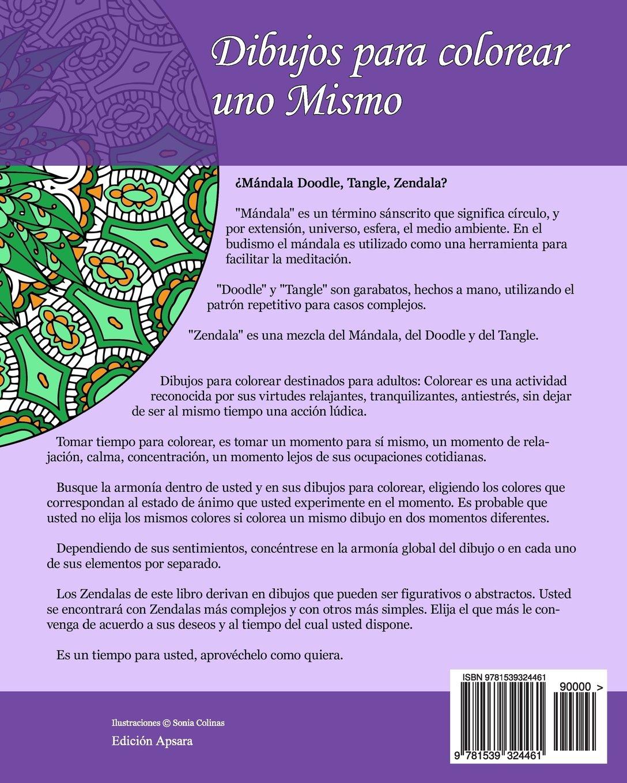 Dibujos para colorear uno Mismo - Zendalas - Volumen 2: 25 Mándalas ...