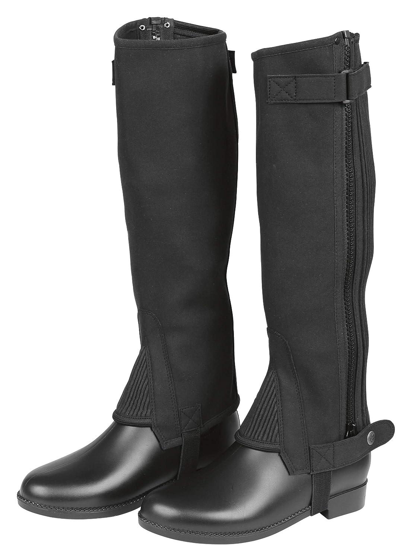 Covalliero ClassisStrectch Minichaps Accessoire d/Équitation pour Cheval Noir Taille L