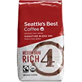 Seattle's Best Coffee Fair Trade Signature Blend No. 4, Ground, 12-Ounce Bags