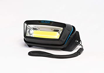 Velnox Tarsier, LED Night Time Light - Great for Running, Dog Walking, Hiking, Camping, Safety & More - Wearable Wide Angle Flashlight Can Hook, Clip on, Hang, or Carry - 120 Degrees, 25-30 Meters
