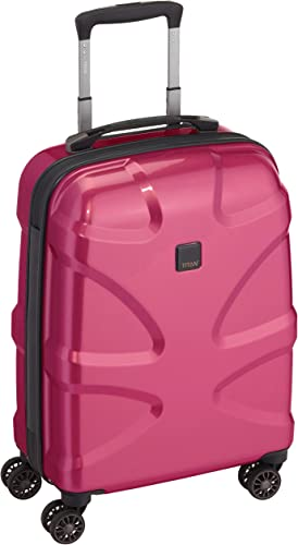 Titan X2 International Carry on 20 hardside Spinner Luggage, Pink, One Size