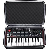XANAD Case EVA Hard for Akai Professional MPK Mini MKII & MPK Mini Play | 25-Key Ultra-Portable USB MIDI Drum Pad & Keyboard