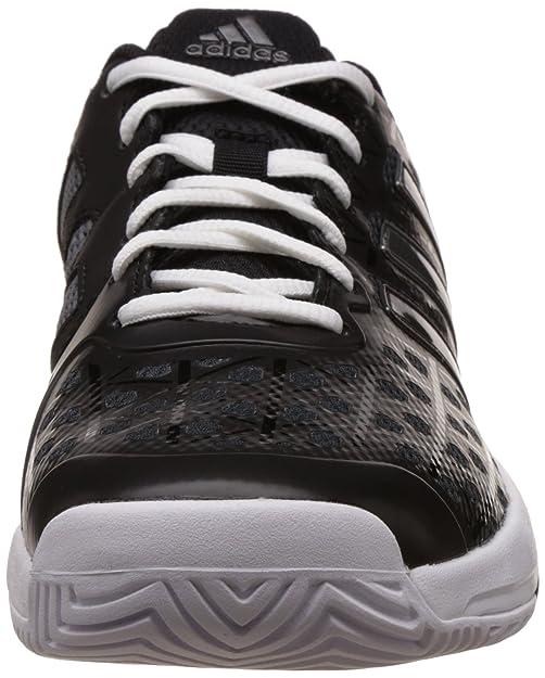 Amazon.com: adidas Barricade Club XJ Junior Court Shoes - AW16-6 - Black: Shoes