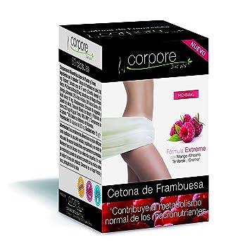 Corpore Diet Control de Peso Cetona de Frambuesa - 60 Cápsulas