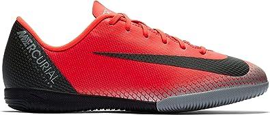 8fb92df62 NIKE Youth Soccer Jr. Mercurial Vapor 12 Indoor Shoes (1.5 M US Little Kid
