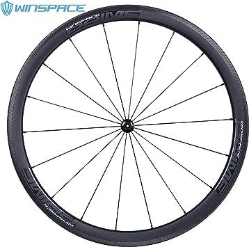 Winspace 700C - Ruedas para Bicicleta de Carretera (50 mm, 3 K ...