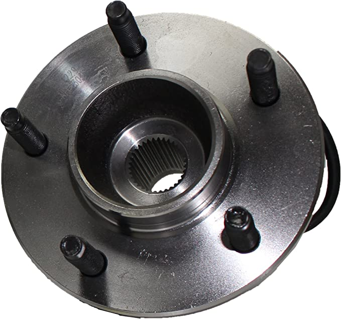 TUCAREST 512229 Rear Wheel Bearing and Hub Assembly Compatible 2005-2006 Chevrolet Equinox 2006 Pontiac Torrent 02-07 Saturn Vue 5 Lug W//ABS
