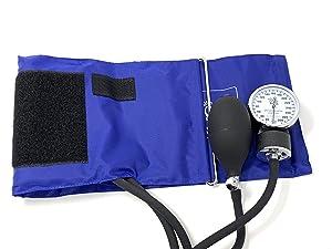EMI D-Ring Royal Aneroid Sphygmomanometer Blood Pressure Regular Adult Cuff
