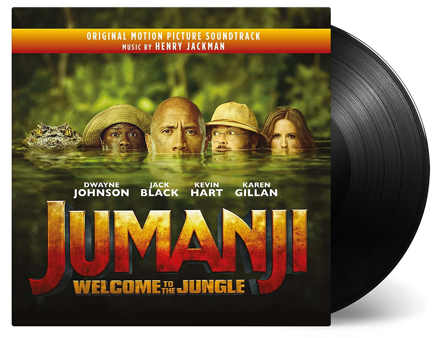 Jumanji: Welcome to the Safety and trust Jungle Original Max 57% OFF Picture Soundtra Motion