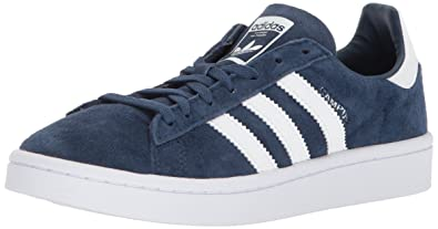 adidas Originals Women's Campus W, Mineral Blue/White/White, 5 Medium US