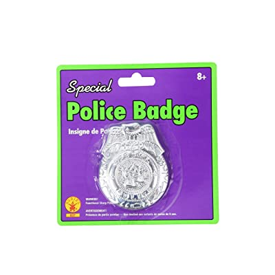 Special Police Badge - General Accessories by Rubies: Toys & Games