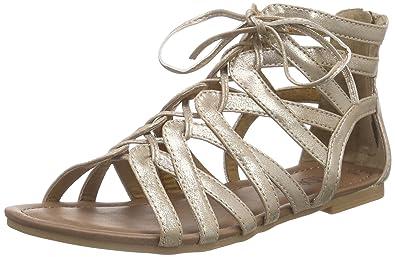b1896eb05f4f s.Oliver Women s 28123 Roman Sandals Pink Size  8  Amazon.co.uk ...