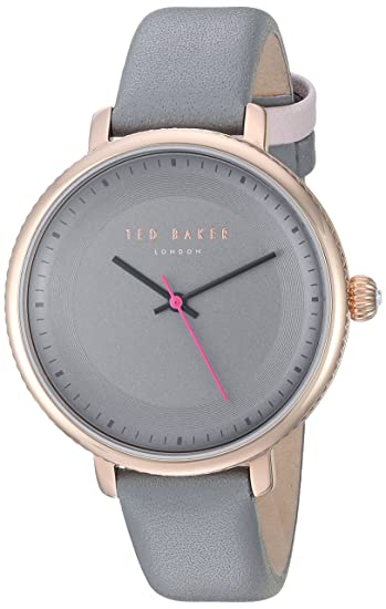 bbc13a67fc63 Ted Baker Women s  ISLA  Quartz Stainless Steel and Leather Dress Watch