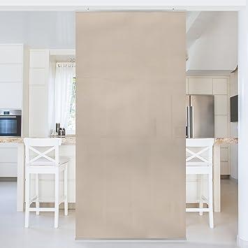 Raumteiler Macchiato 250x120cm Schiebegardine Schiebevorhang