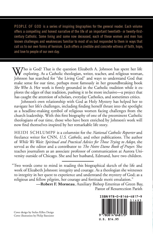 Elizabeth Johnson Questing For God People Of God Heidi Schlumpf