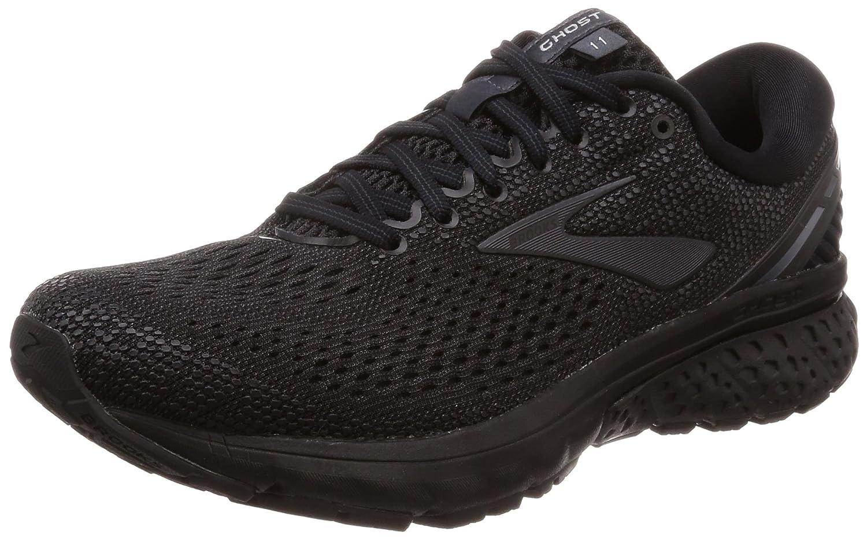Brooks Womens Ghost 11 Running Shoe B078BQRQJB 9.5 W US|Black/Ebony