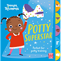 Potty Superstar: A potty training book for girls (Toddler Triumphs)