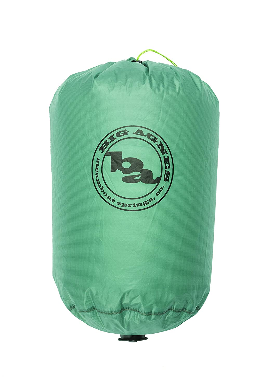 Big Agnes Pumphouse Platinum - Ultralight Sleeping Pad Pump, Camp Pillow, and Dry Bag, Blue [並行輸入品] B07R3J814F
