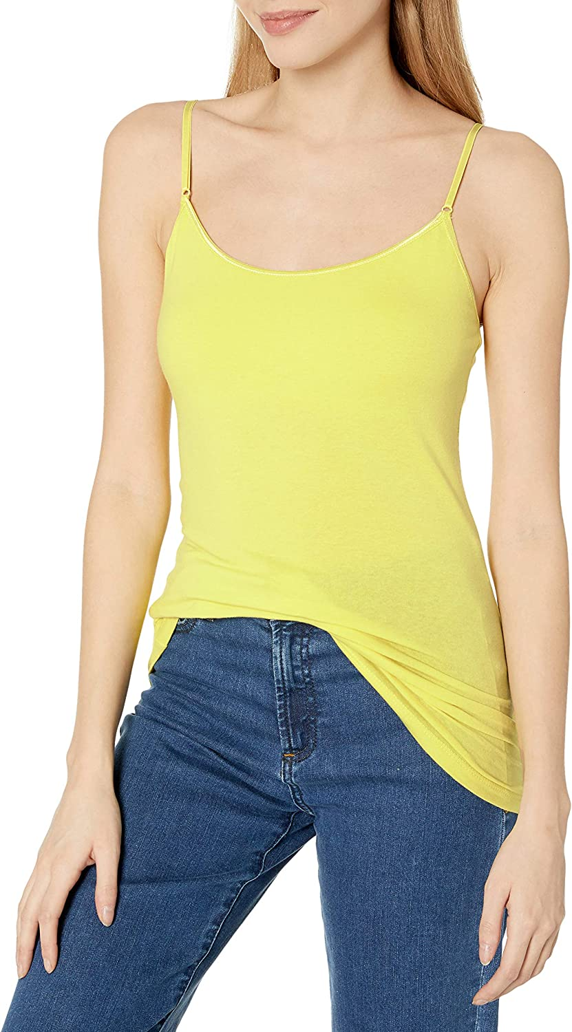 Tresics Women's Trendy Basic Junior Camisole Without Bra for Layering Or Lounging