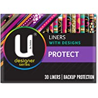 U BY KOTEX Designer Protect Liners (Pack of 30)