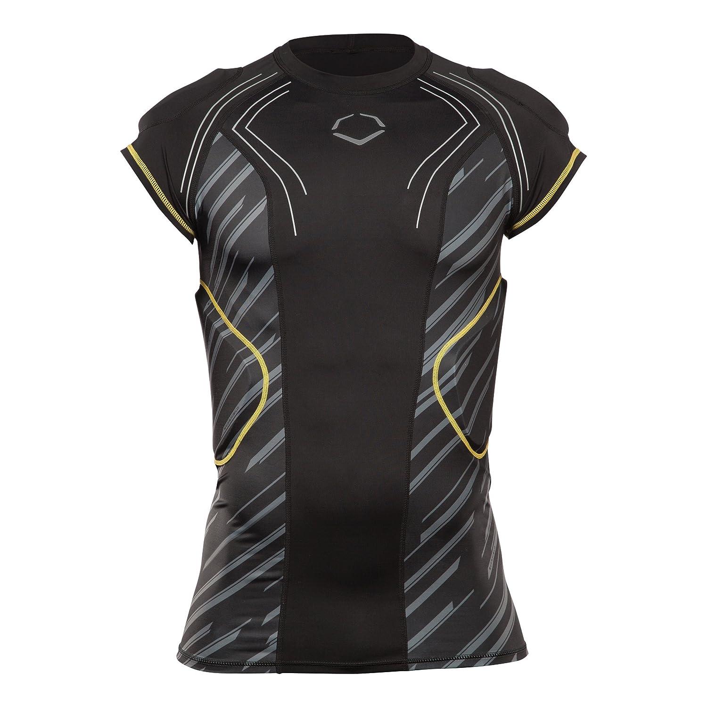 Amazon.com : EvoShield CustomTech EvoAlpha Football Rib Shirt ...
