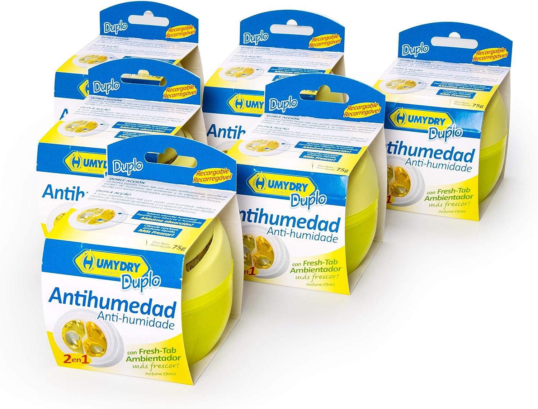 Lote HUMYDRY Antihumedad 6 Duplo 75g Limón: Amazon.es: Bricolaje y herramientas
