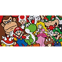 Super Mario Duvet Cover, Multi-Coloured
