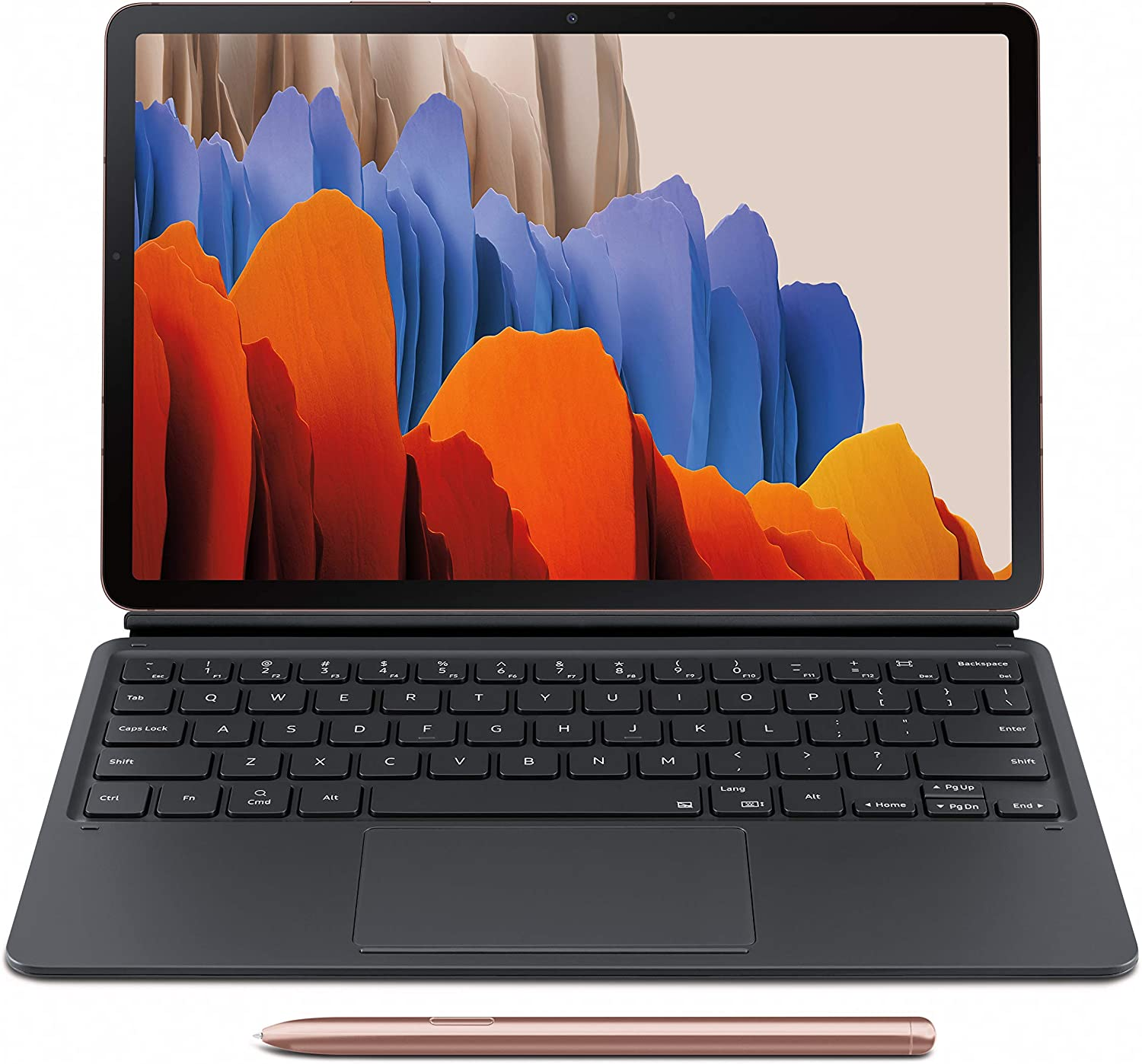 Amazon: Tab S7 Bronze 512 GB with Keyboard Cover @ 2.58 + Free Shipping