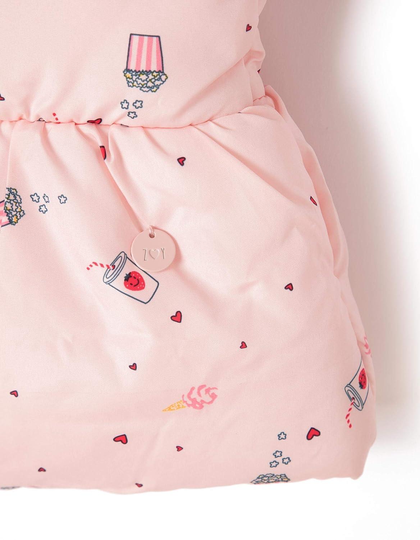 Zippy Girls Puffer Vest Cryst Rose Waistcoat