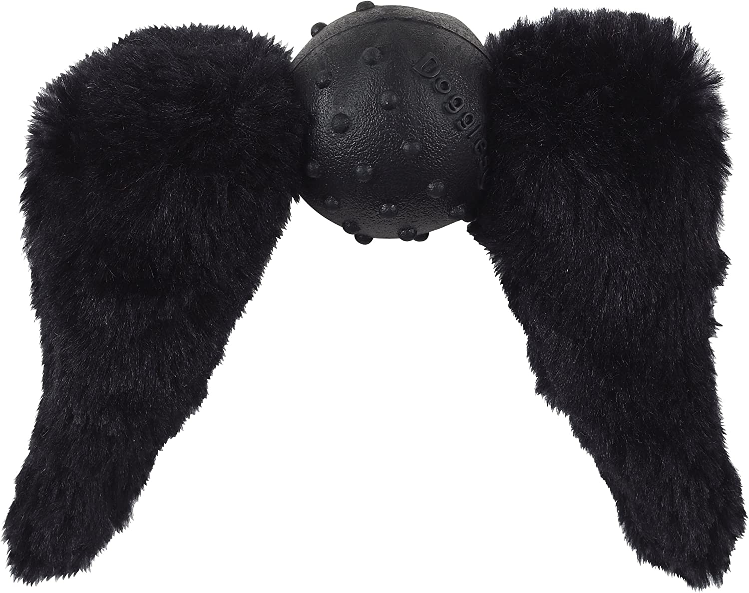 Doggles Mustache with Chops Toy for Dogs, Black