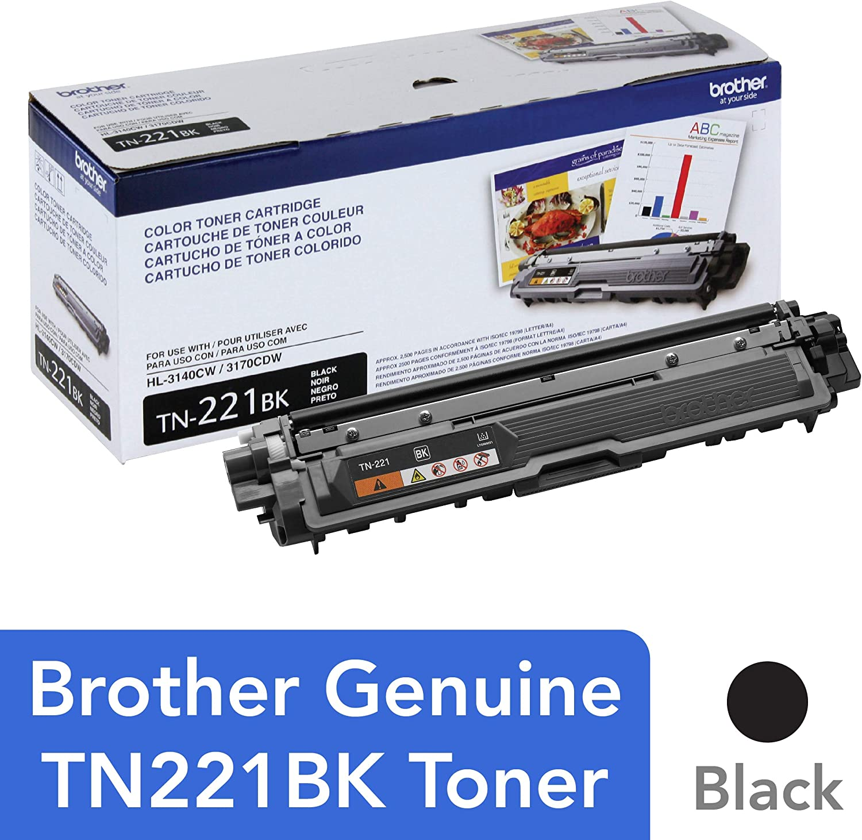 MFC-9330CDW MFC-9340CDW TN221 BK TN-221 3pk Black Toner For Brother MFC-9130CW