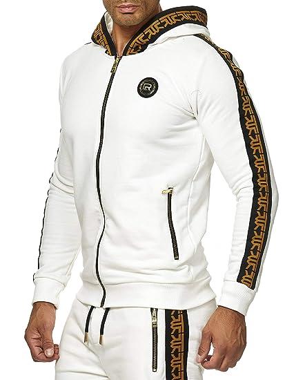 Red Bridge Herren Sweatshirt Sweat Jacke Kapuzenpullover Hoodie R Logo Premium M2157