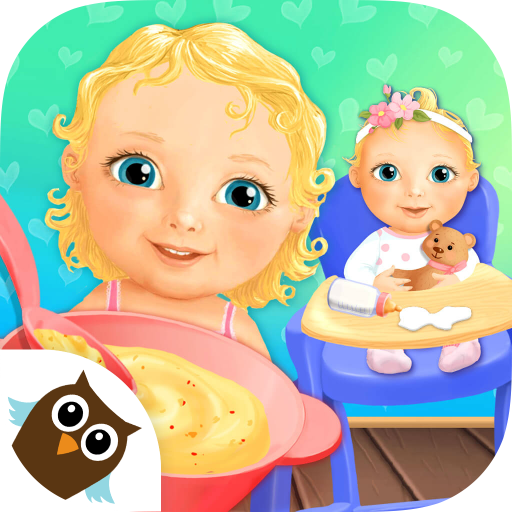 Sweet Baby Girl Dream House - Bath, Dress Up, Feed and Take Care of Little Baby Girl Alice, Bake a Cake and Play Birthday -