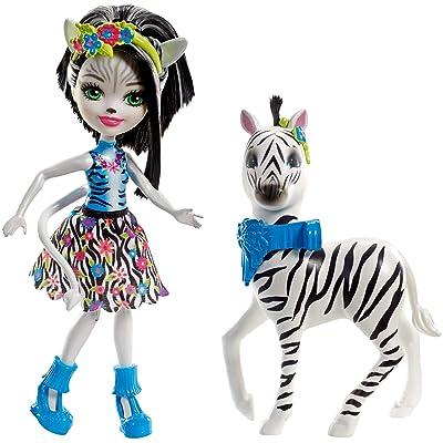 Enchantimals Zelena Zebra Dolls: Toys & Games