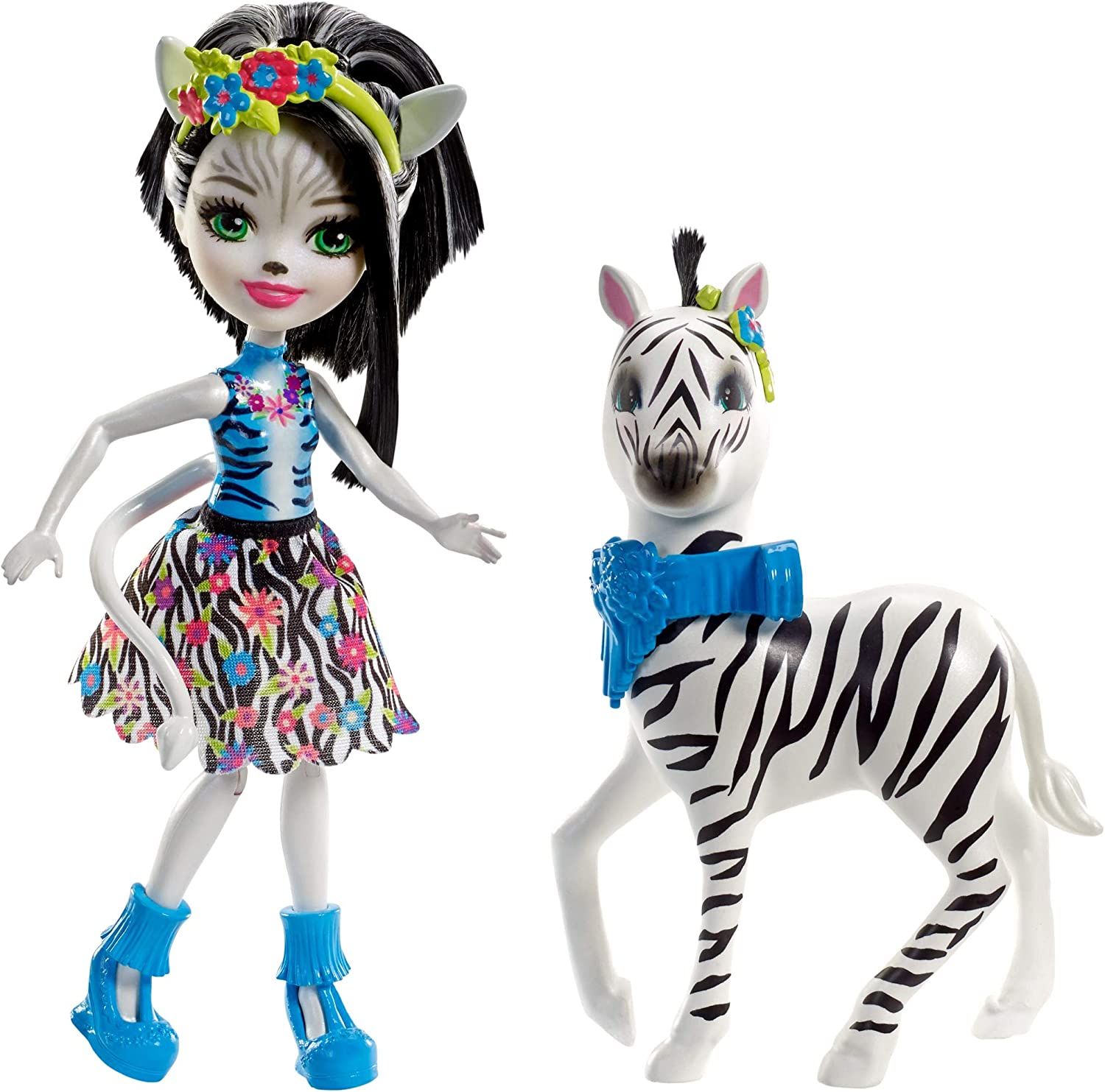 Enchantimals Zelena Zebra Dolls