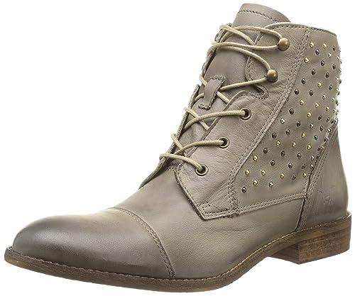 MUSTANG Damen Boots Neuer Stil in Braun Glattleder