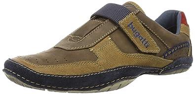 Herren D087753 Sneaker, Braun (Braun/Blau 620), 43 EU Bugatti