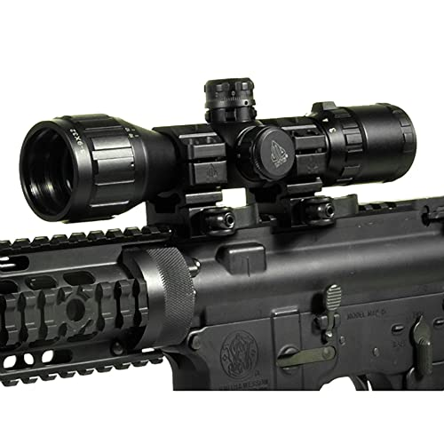 "UTG 3-9X32 1"" BugBuster Scope, AO, RGB Mil-dot"
