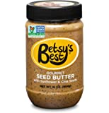Gourmet Sunflower Seed Butter by Betsy's Best 16 OZ - FREE RECIPE BOOK