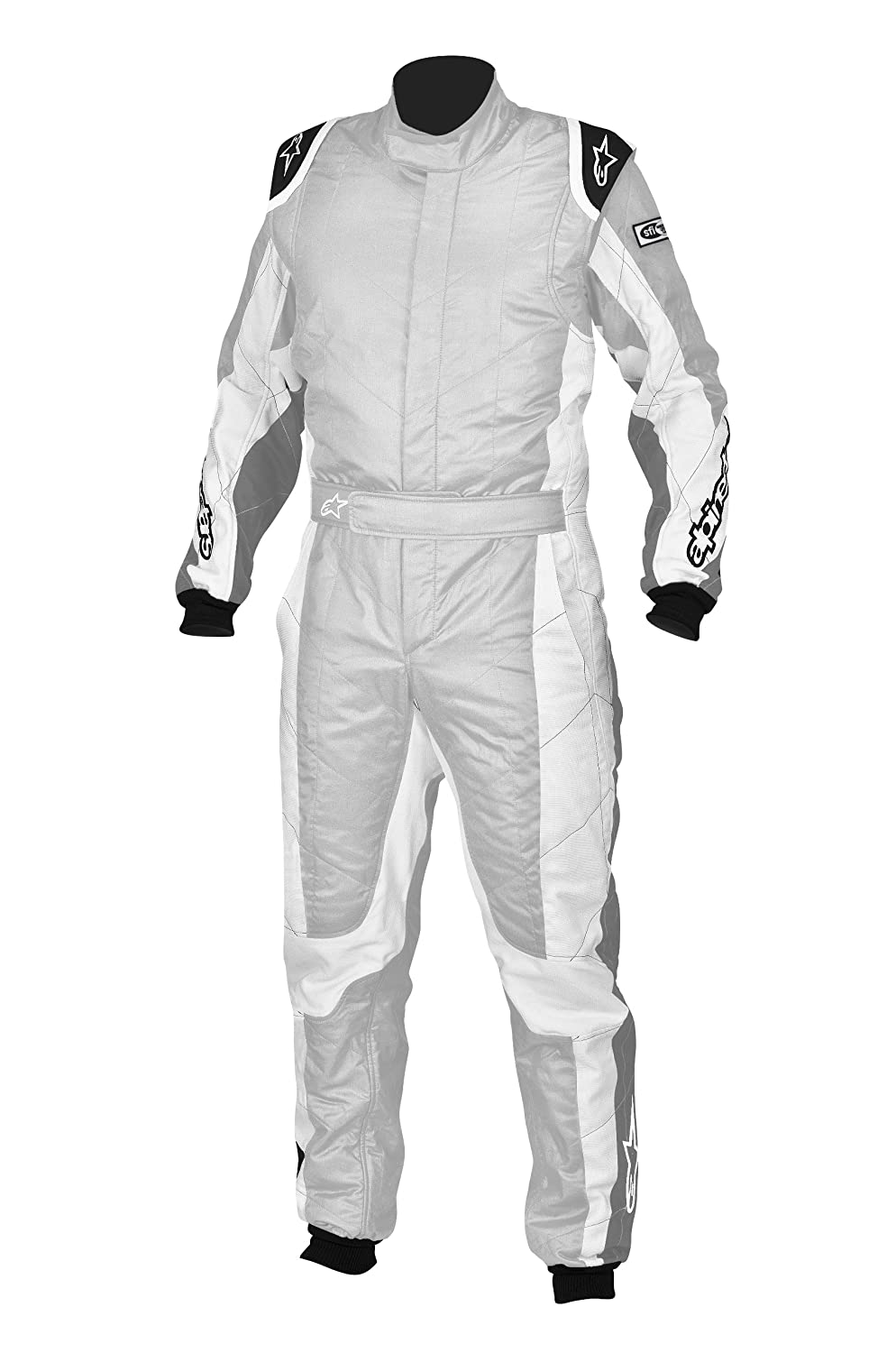 Alpinestars 3354113-192-58 Silver//White Size-58 GP Tech Suit