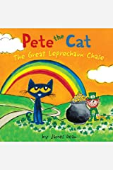 Pete the Cat: The Great Leprechaun Chase: Includes 12 St. Patrick's Day Cards, Fold-Out Poster, and Stickers! Kindle Edition