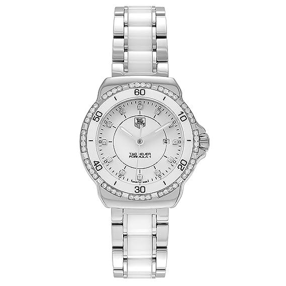 TAG Heuer fórmula 1 Diamante De La Mujer Reloj WAH1313. BA0868: Amazon.es: Relojes