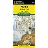 Acadia National Park (National Geographic Trails Illustrated Map, 212)