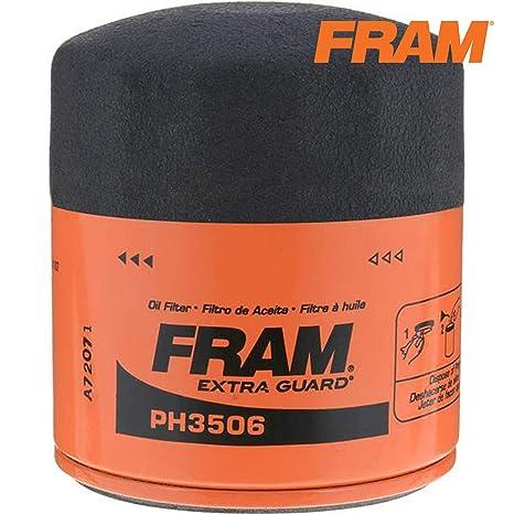 Amazon.com: Filtro de aceite FRAM Ultra sintético Premium ...