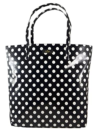 Amazon kate spade polka dot bon shopper tote black cream kate spade polka dot bon shopper tote black cream junglespirit