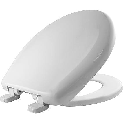 Fantastic Mayfair 20C 020 Plastic Toilet Seat With Top Tite Hinges Short Links Chair Design For Home Short Linksinfo